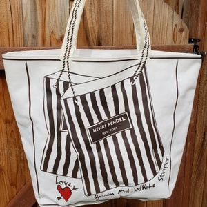 Limited Edition Henri Bendel Shopping/Beach Tote